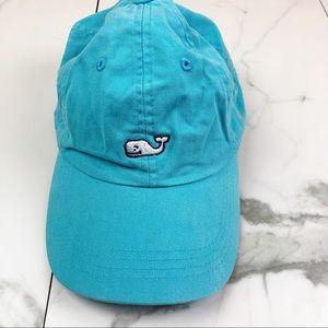 Vineyard Vines• Whale Logo Teal Baseball Cap